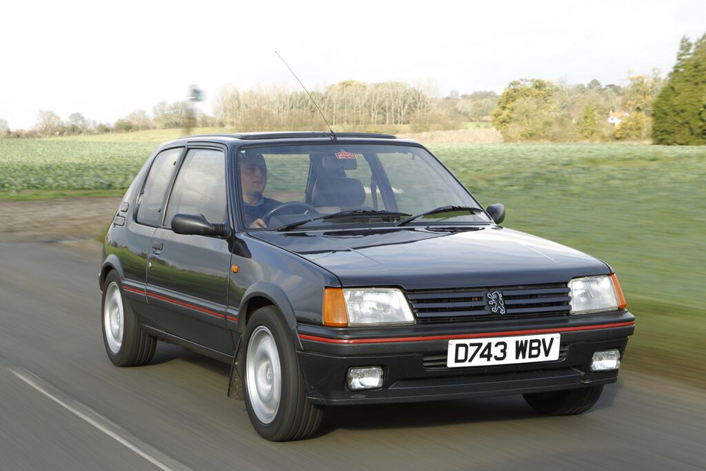 Pug 21 cr1Rrs 1024x683 - History of the Peugeot 205 GTi – picture special - History of the Peugeot 205 GTi – picture special