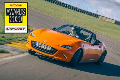 1 adc mazda mx5 logo Og9mfu 400x267 - Autocar Awards 2020: Mazda MX-5 named Best Affordable Driver's Car - Autocar Awards 2020: Mazda MX-5 named Best Affordable Driver's Car