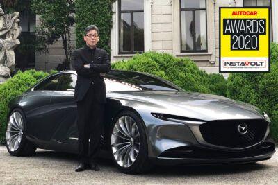 1 design hero ikuo maeda logo pPydXH 400x267 - Mazda's Ikuo Maeda named 2020 Autocar Awards Design Hero - Mazda's Ikuo Maeda named 2020 Autocar Awards Design Hero