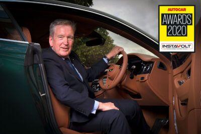 1 editors award adrian hallmark logo FXccCe 400x267 - Bentley CEO Adrian Hallmark wins 2020 Autocar Awards Editor's Award - Bentley CEO Adrian Hallmark wins 2020 Autocar Awards Editor's Award