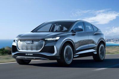 10 audi e tron static front mPTPNV 400x267 - Audi Q4 Sportback E-tron is maker's seventh EV by 2021 - Audi Q4 Sportback E-tron is maker's seventh EV by 2021
