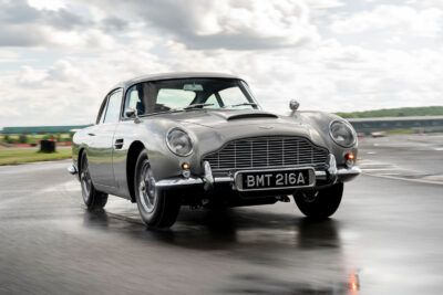 99 aston martin db5 goldfinger continuation 1st built hero TscxVA 400x267 - First Aston Martin DB5 Goldfinger Continuation built - First Aston Martin DB5 Goldfinger Continuation built