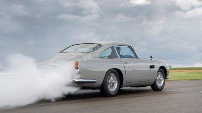 Aston Martin DB5 Goldfinger Continuation 04 ycgRVh 400x225 - First £2.75m Aston Martin DB5 Goldfinger Continuation model produced | Evo - First £2.75m Aston Martin DB5 Goldfinger Continuation model produced | Evo
