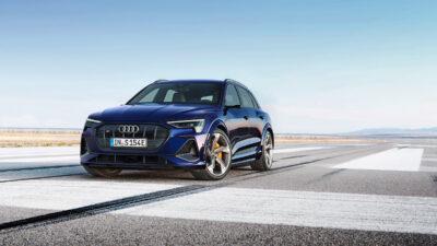AudiUK00026652 GDDJjr 400x225 - New 496bhp Audi e-tron S revealed – Audi's first high-performance EV | Evo - New 496bhp Audi e-tron S revealed – Audi's first high-performance EV | Evo