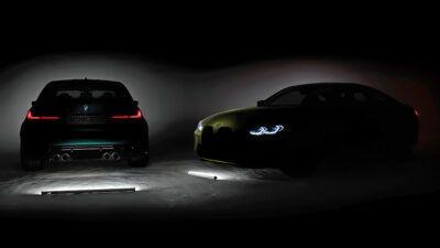 M3 M4 teaser vChchD 400x225 - 2020 BMW M3 tech specs revealed – choice is the word for BMW's sports saloon | Evo - 2020 BMW M3 tech specs revealed – choice is the word for BMW's sports saloon | Evo