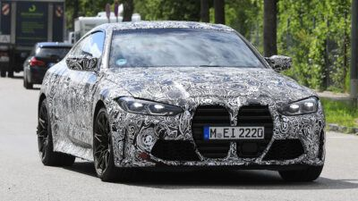 New 2020 BMW M4 spied 3 xA8WR5 400x225 - New 2020 BMW M4 spied testing ahead of launch | Evo - New 2020 BMW M4 spied testing ahead of launch | Evo