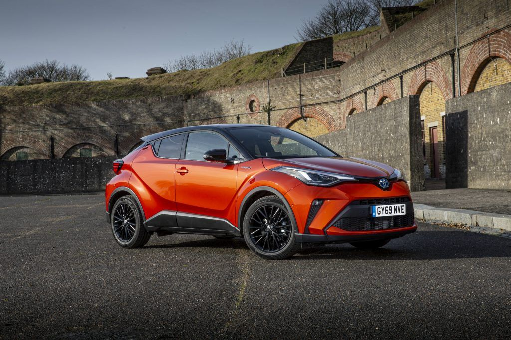 Toyota CH R 2020 Front carwitter 1024x683 - Top 10 Best Selling Cars in Ireland 2020 - Top 10 Best Selling Cars in Ireland 2020