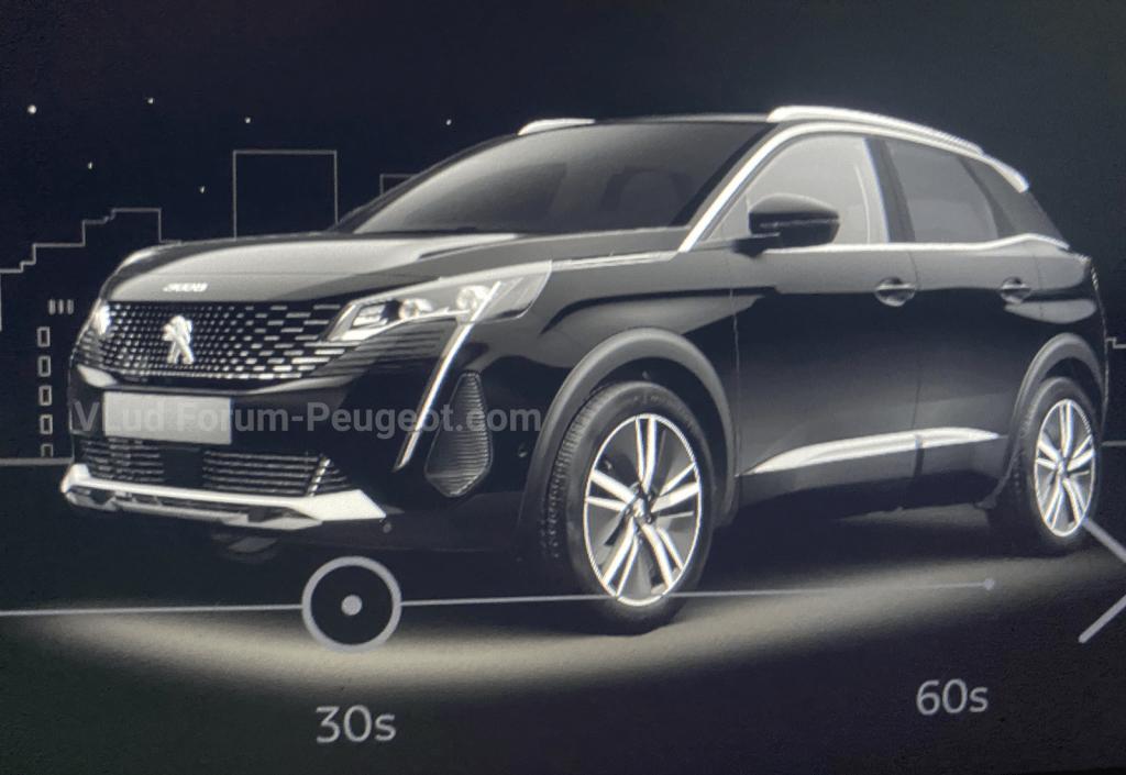 peugeot 3008 facelift leaked images 4 AOml5U 1024x705 - 2021 Peugeot 3008 facelift leaks online in detail - 2021 Peugeot 3008 facelift leaks online in detail