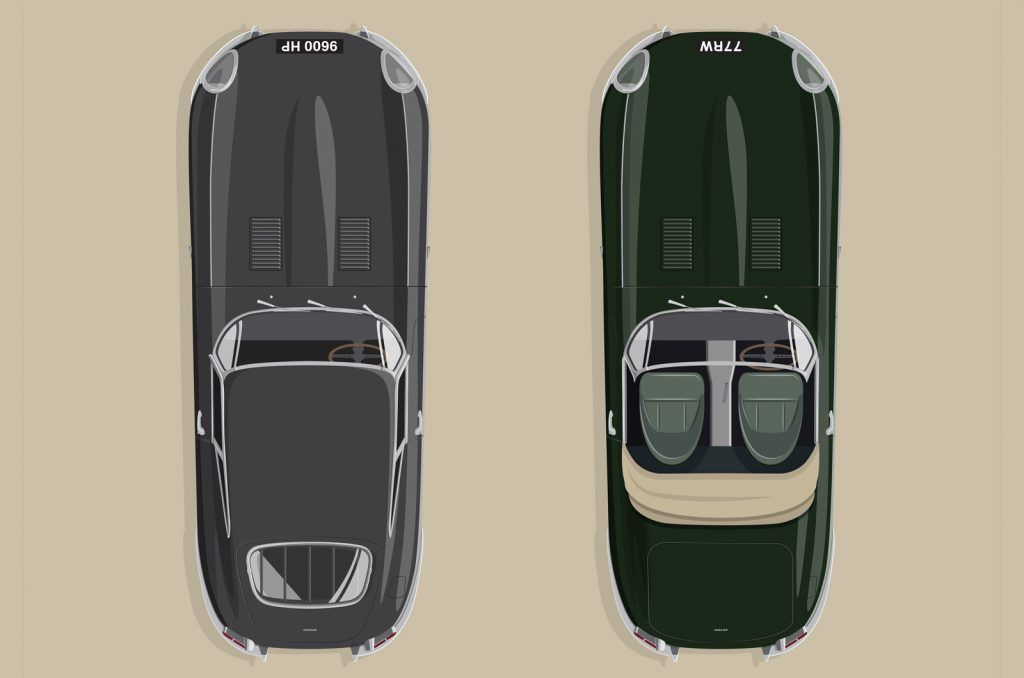 j classic etype 60 120820 4x5 cLFqfr 1024x678 - Jaguar details recreated E-Type to mark icon's 60th anniversary - Jaguar details recreated E-Type to mark icon's 60th anniversary